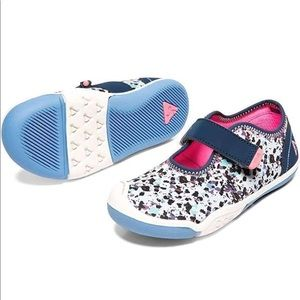 PLAE Shoes - Go Plae Chloe Girl Toddler Blue Pink Shoes 7